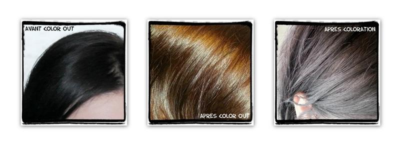 les cheveux ressortent lgrement secs mais un bon soin suffit leur redonner hydratation et brillance - Eclaircir Cheveux Noir Color