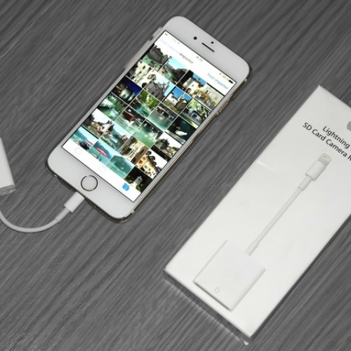 Lecteur de carte SD Lightning Apple