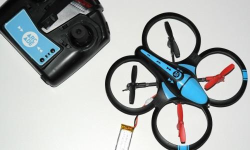 Test du Drone Quadcopter d'Arcade
